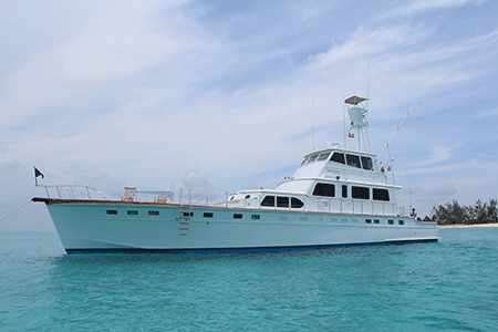 80ft Classic Power Yacht Silver Queen